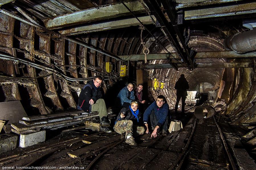 diggery-v-zabroshennom-metrostroe Командный бункер Киевского метрополитена