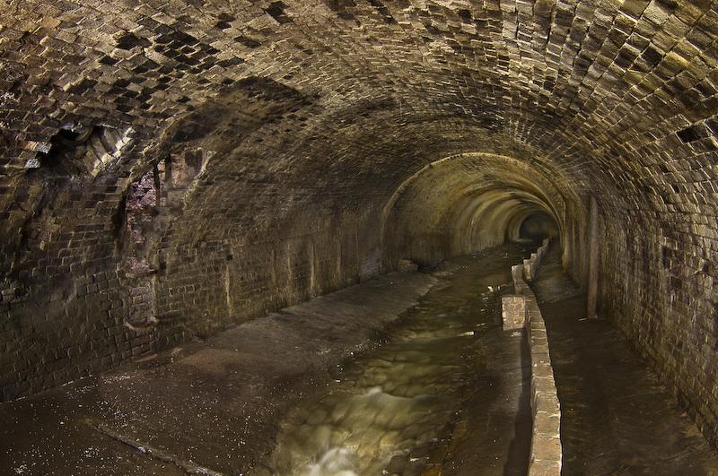 tunnel-reki-glubochica Подземная река Глубочица.