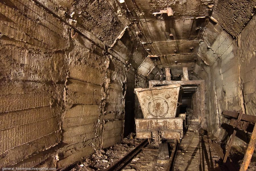 vagonetka-v-shtolne Командный бункер Киевского метрополитена