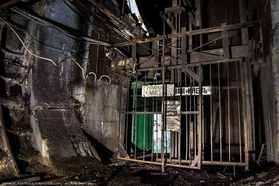 vyxod-v-shaxtnuyu-klet Командный бункер Киевского метрополитена