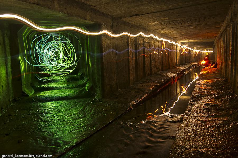 19872203 Ручей Кадетская Роща - подземная река Первомайского массива Киева