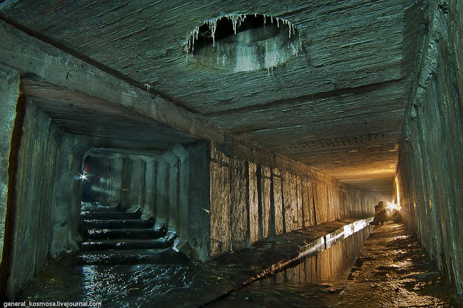 19872204 Ручей Кадетская Роща - подземная река Первомайского массива Киева