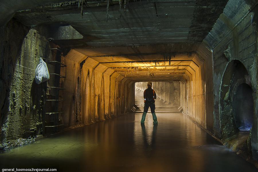 ekskursiya-s-diggerami-kiev Ручей Кадетская Роща - подземная река Первомайского массива Киева