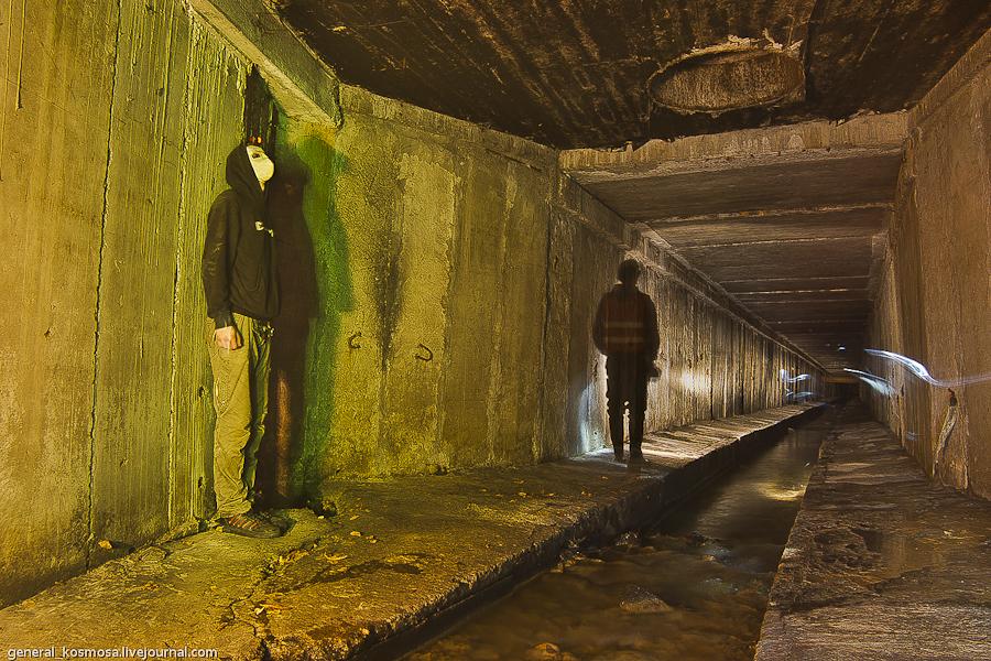 ekstremalnyj-tim-bilding-v-kieve Ручей Кадетская Роща - подземная река Первомайского массива Киева