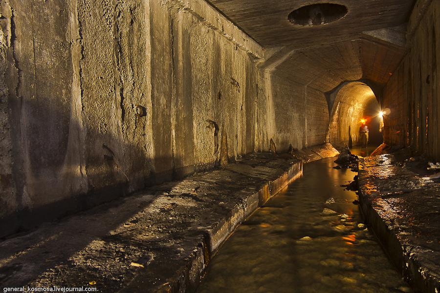 kollektor-zheleznodorozhnyj Ручей Кадетская Роща - подземная река Первомайского массива Киева