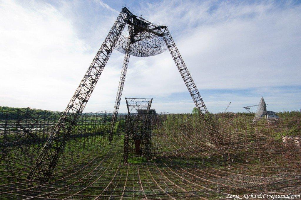 Заброшенная станция изучения Ионосферы под Харьковом