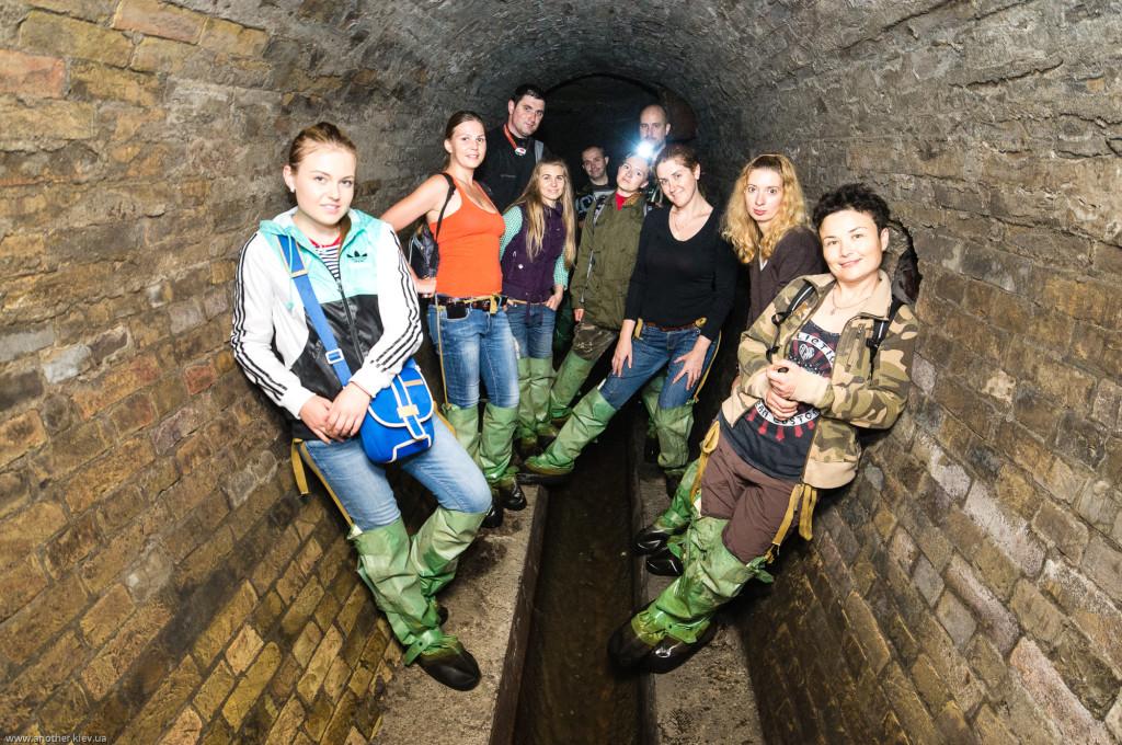 Экскурсия подземелья Крещатика