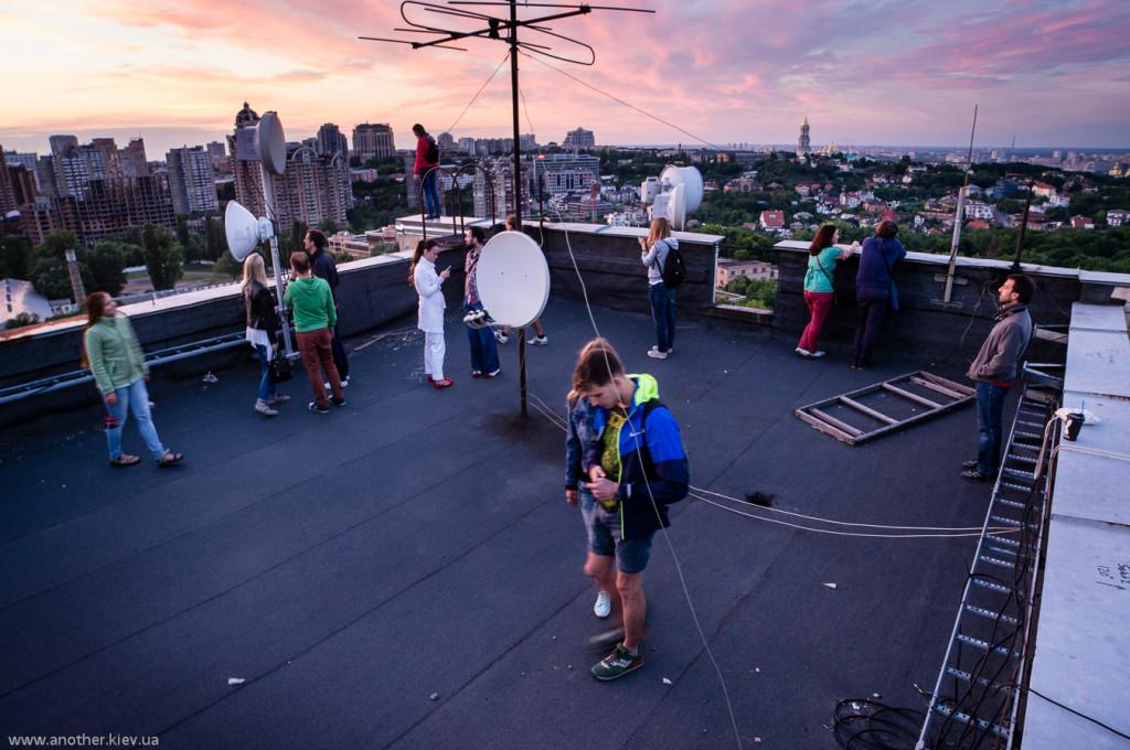 Открытые крыши в Киеве