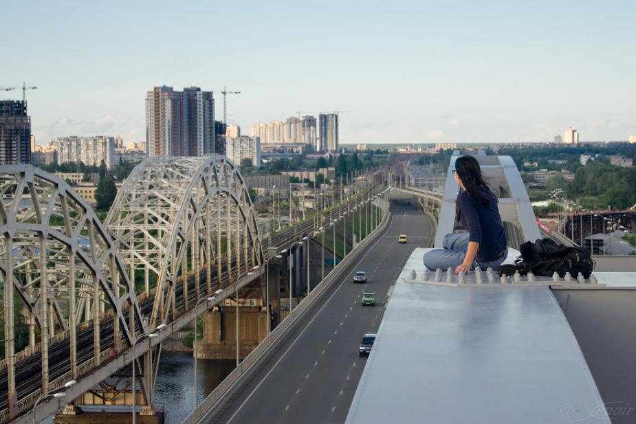 21964815 Вершины Киевских мостов