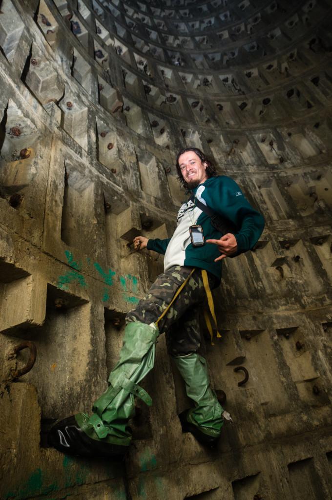 Навыки подземного скалолазания в шахте системы Аскольдова