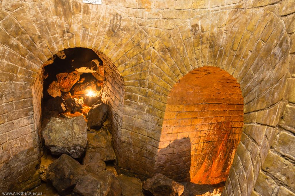 Развилка подземных ходов на втором этаже Никольской