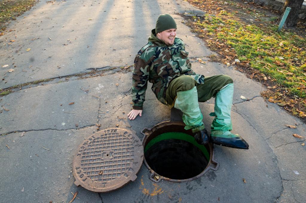Вход в подземную реку Глубочица легким не бывает