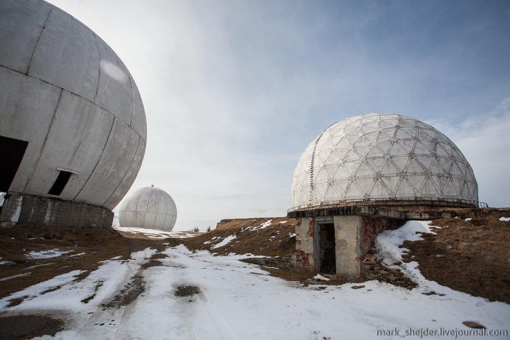 34275430 Четыре заброшенных антенных комплекса в Украине
