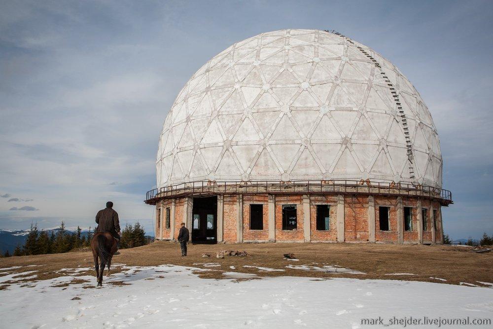34275445 Четыре заброшенных антенных комплекса в Украине