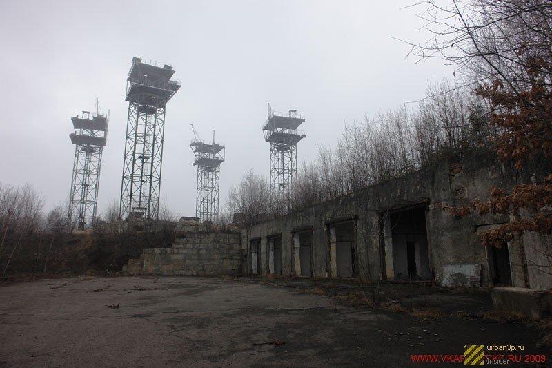 392974 Четыре заброшенных антенных комплекса в Украине