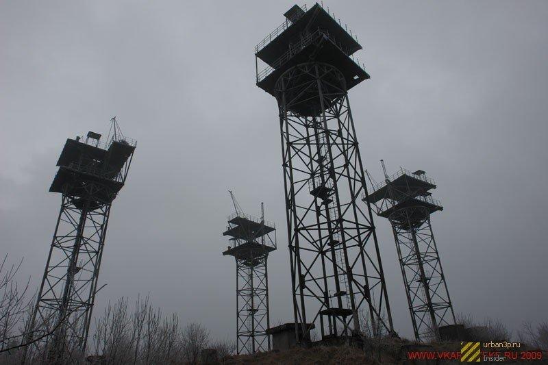 392975 Четыре заброшенных антенных комплекса в Украине