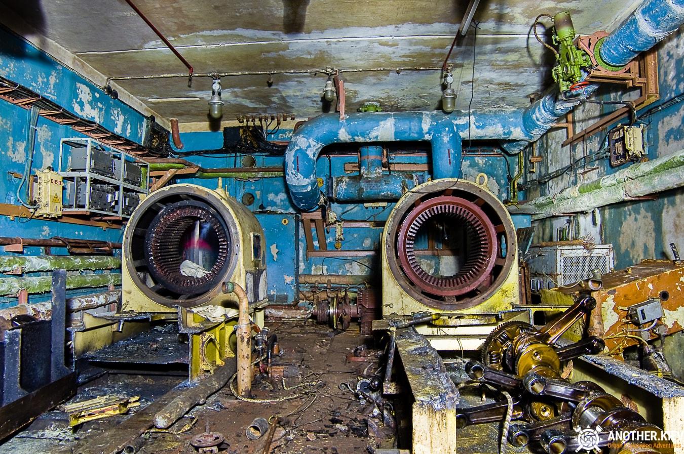"""exploring-nuclear-bunker-duga-313 БУНКЕР ЗГРЛС """"ДУГА-1"""""""