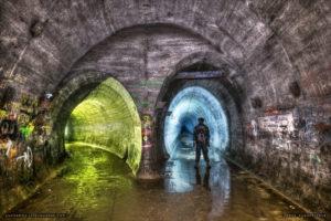 regenwurmlager tunnel system
