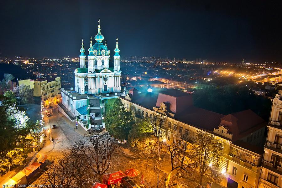 andreevskaya-cerkov Крыша возле велотрека