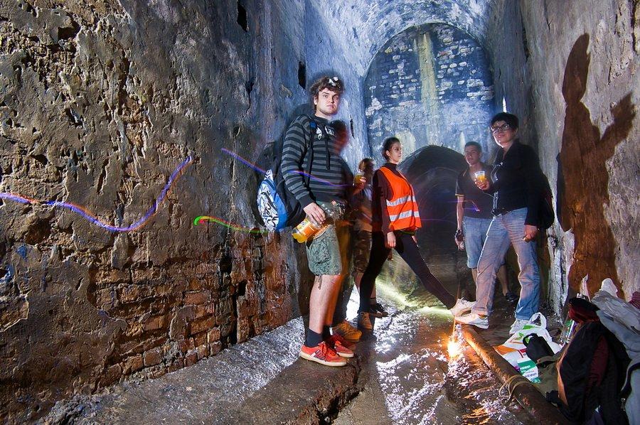 Экстремальные экскурсии по подземельям
