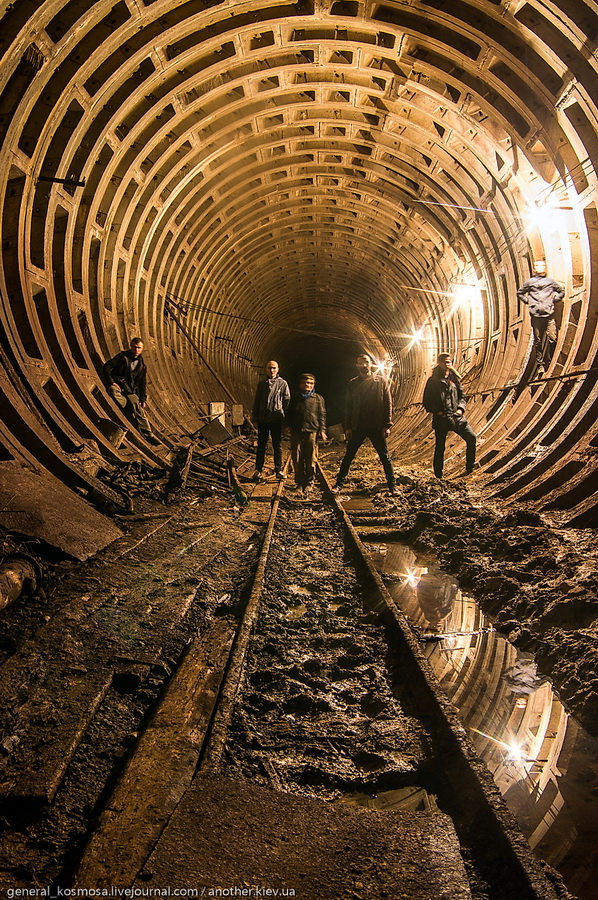 diggery Командный бункер Киевского метрополитена