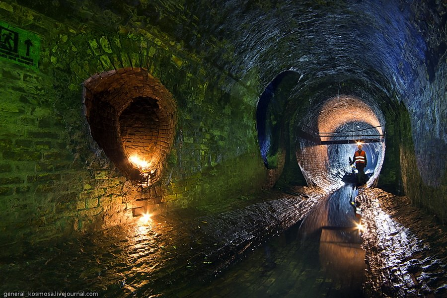 guided-tour-to-underground-river-klov KLOV: MOST BEAUTIFUL UNDERGROUND RIVER IN KIEV