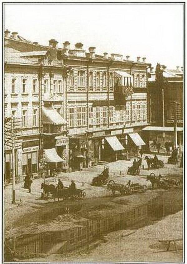 Крещатик в начале 19 века.