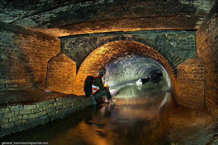 na-beregu-reki-glubochica Подземная река Глубочица.