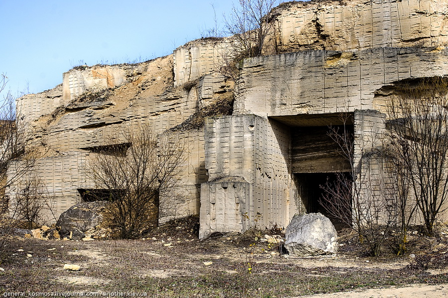 ostatki-karera Джуринские катакомбы.