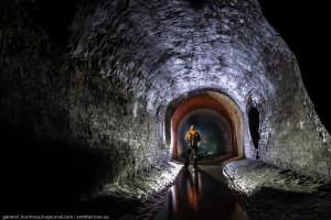 Туннель построен по проекту Городецкого в 1888 году