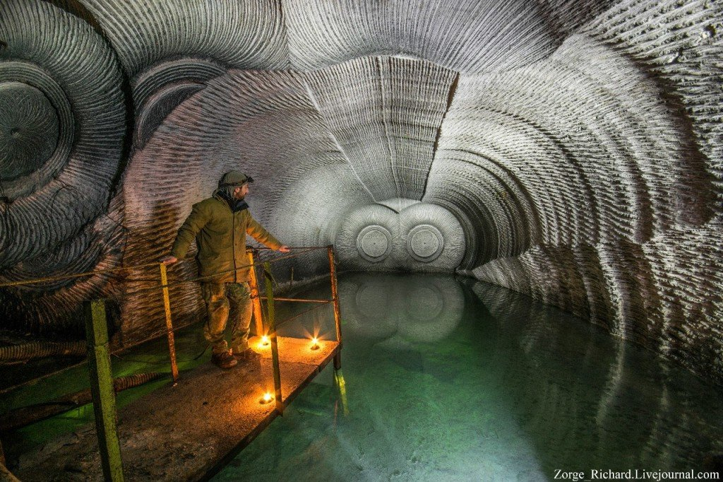 Gigant Gypsum Mines in West Ukraine