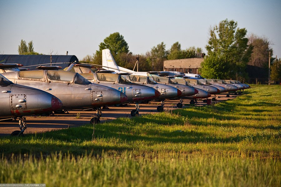Chemestry of Abandoned Aviation in Ukraine