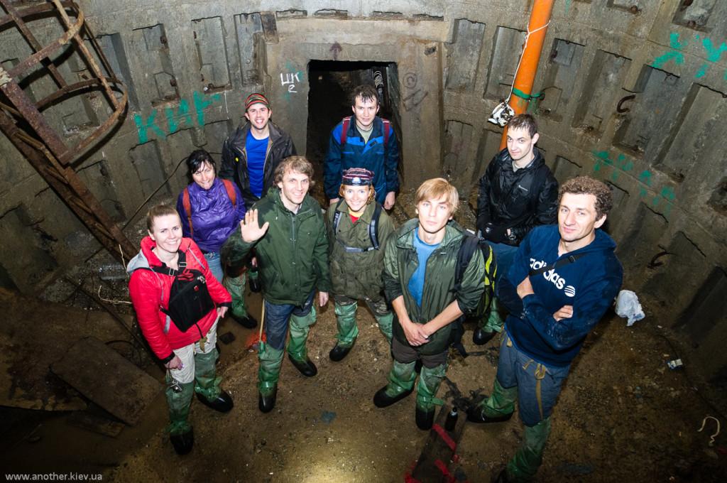 На экскурсии в подземном Киеве
