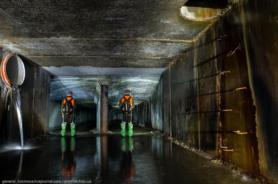 Urbex photo of underground river Klov