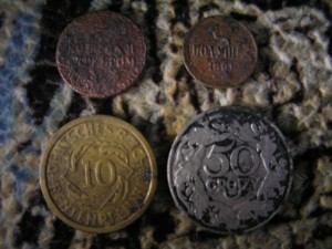 Весьма интересные монеты найденные в Клове