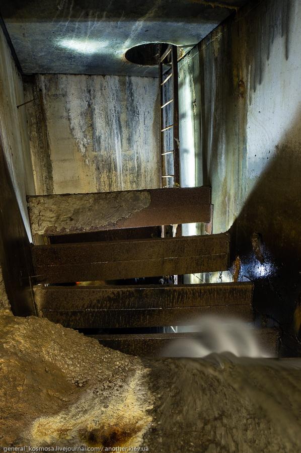 Подземный водопад в Клове