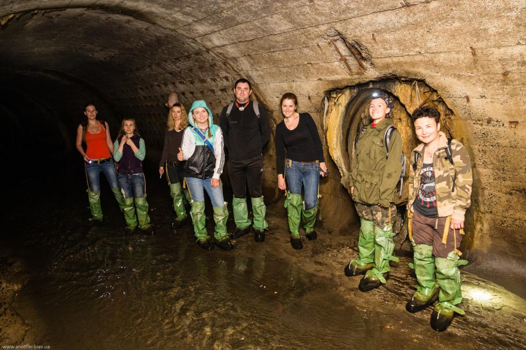 Поход в подземную реку с диггерами