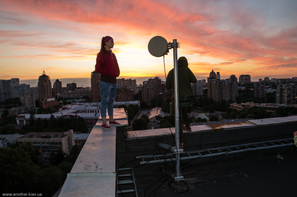 Снять крышу в Киеве