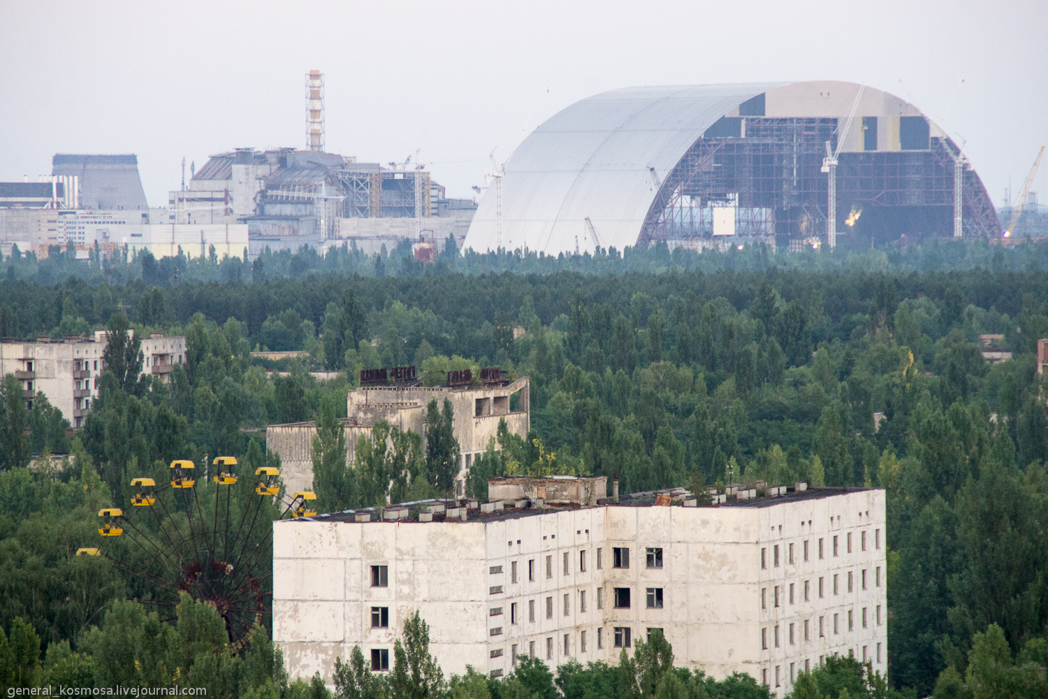 _igp1160 ILLEGAL TOURISM: CHERNOBYL ZONE BY STALKER'S EYES