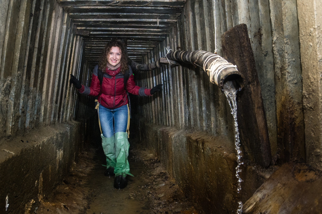 Прогулка по подземным галереям ДШС Аскольдова