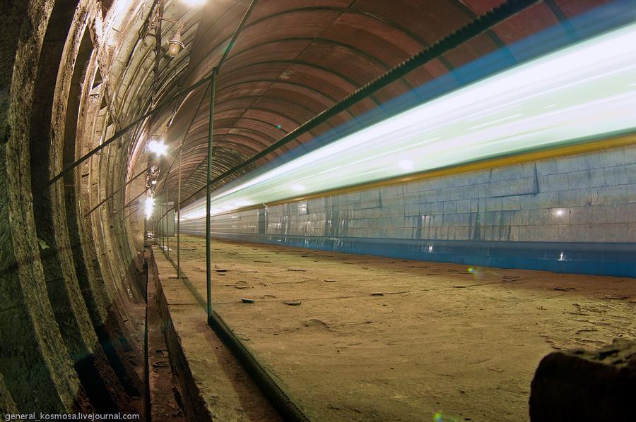 Киев, недостроенная станция метро