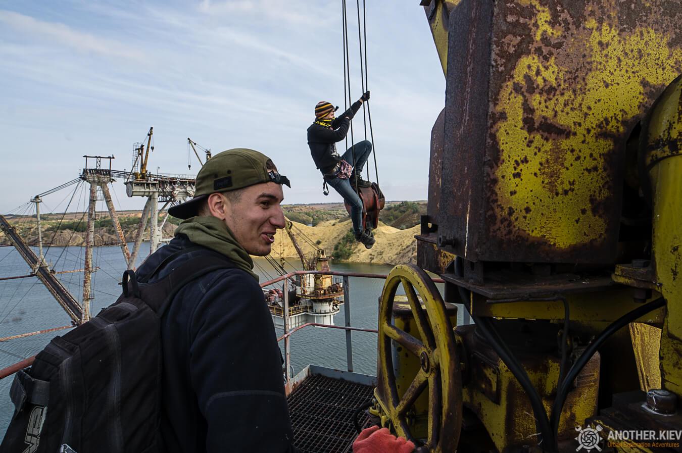 climbing on abandoned abscess ukraine