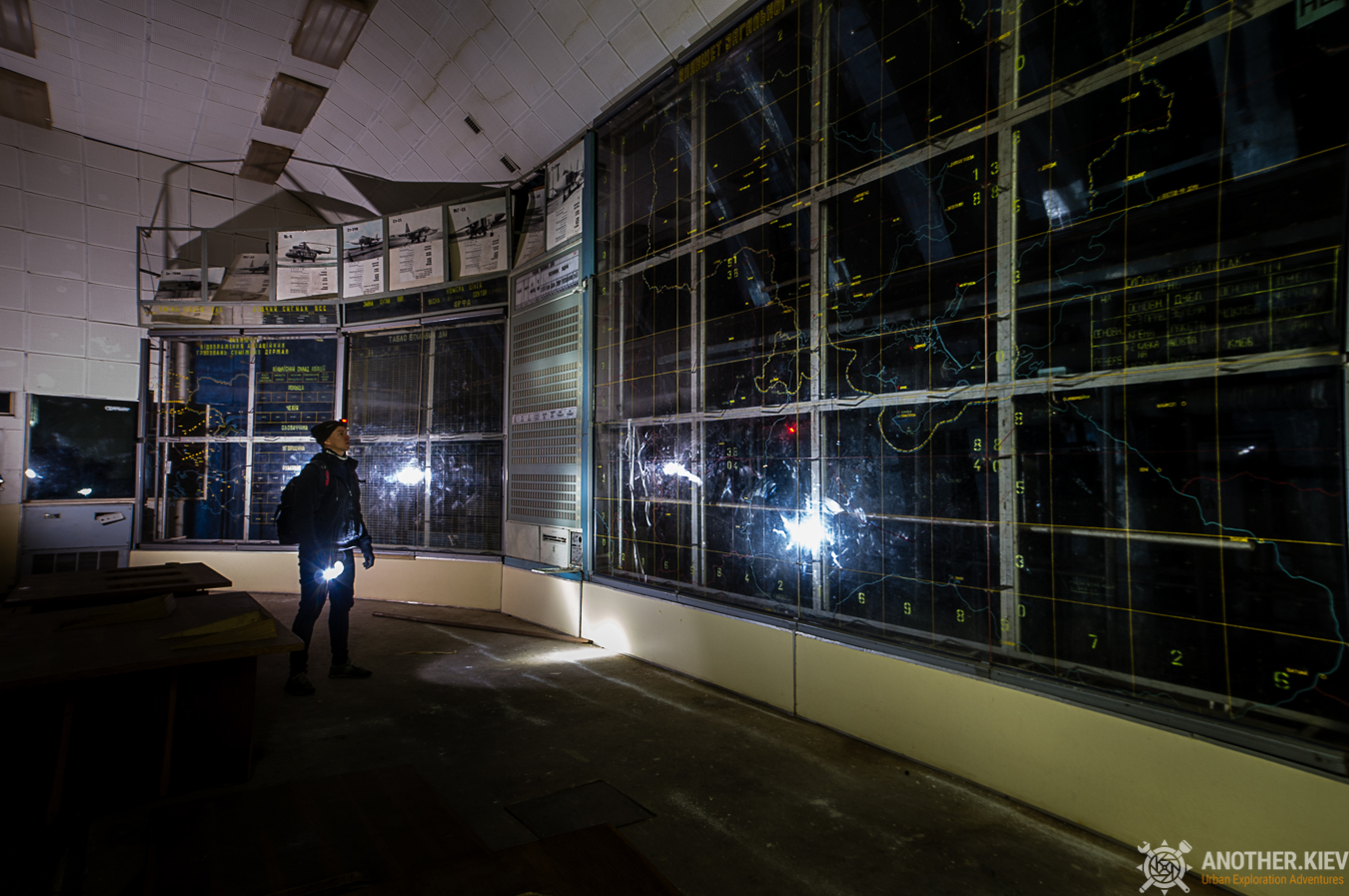 bunker of airforces abandoned