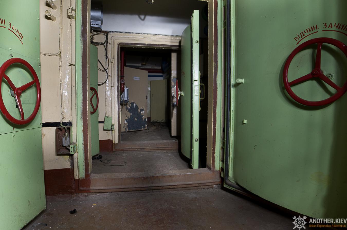 bunker civil defence entrance