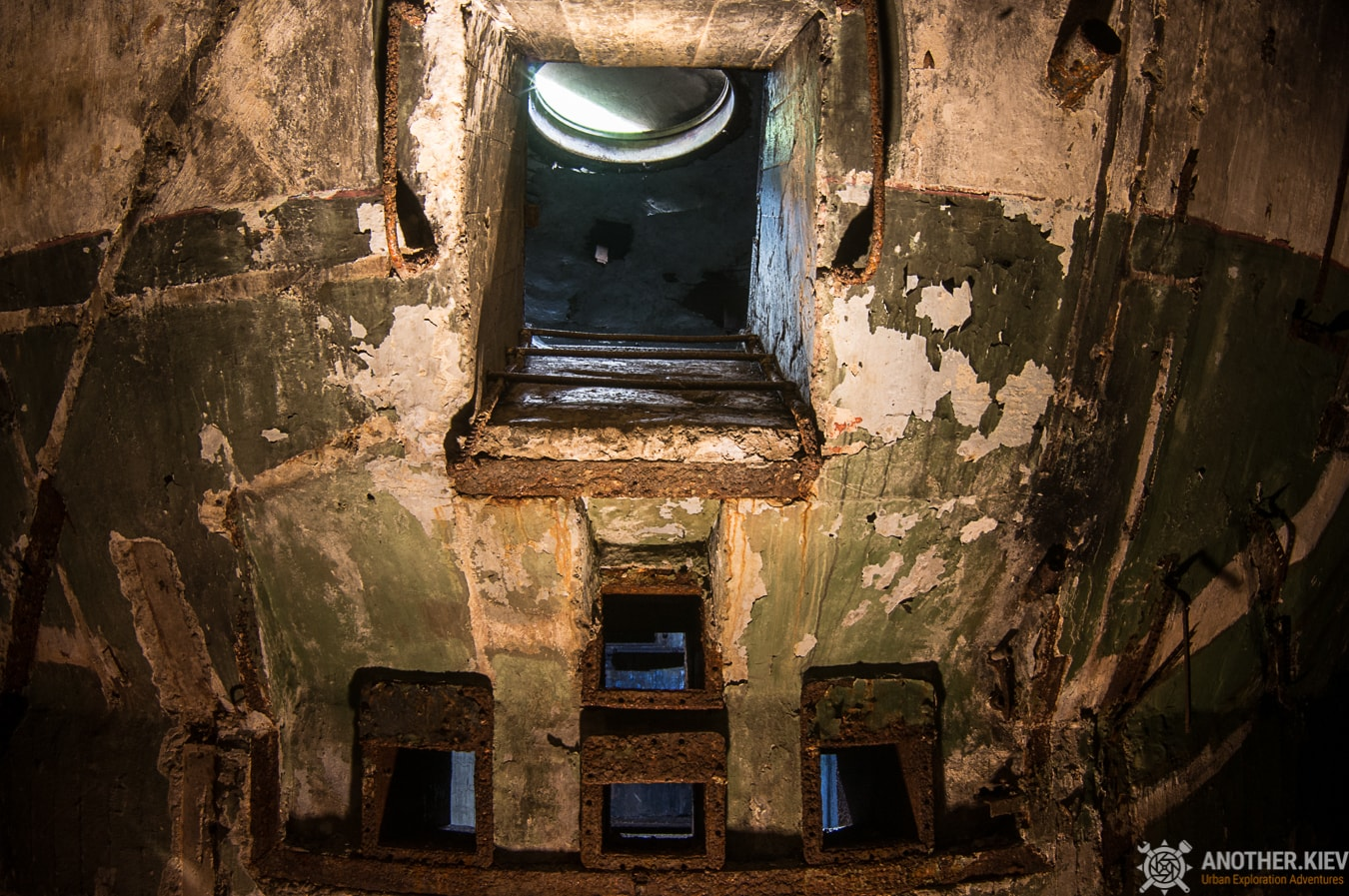 window to the shaft of missile