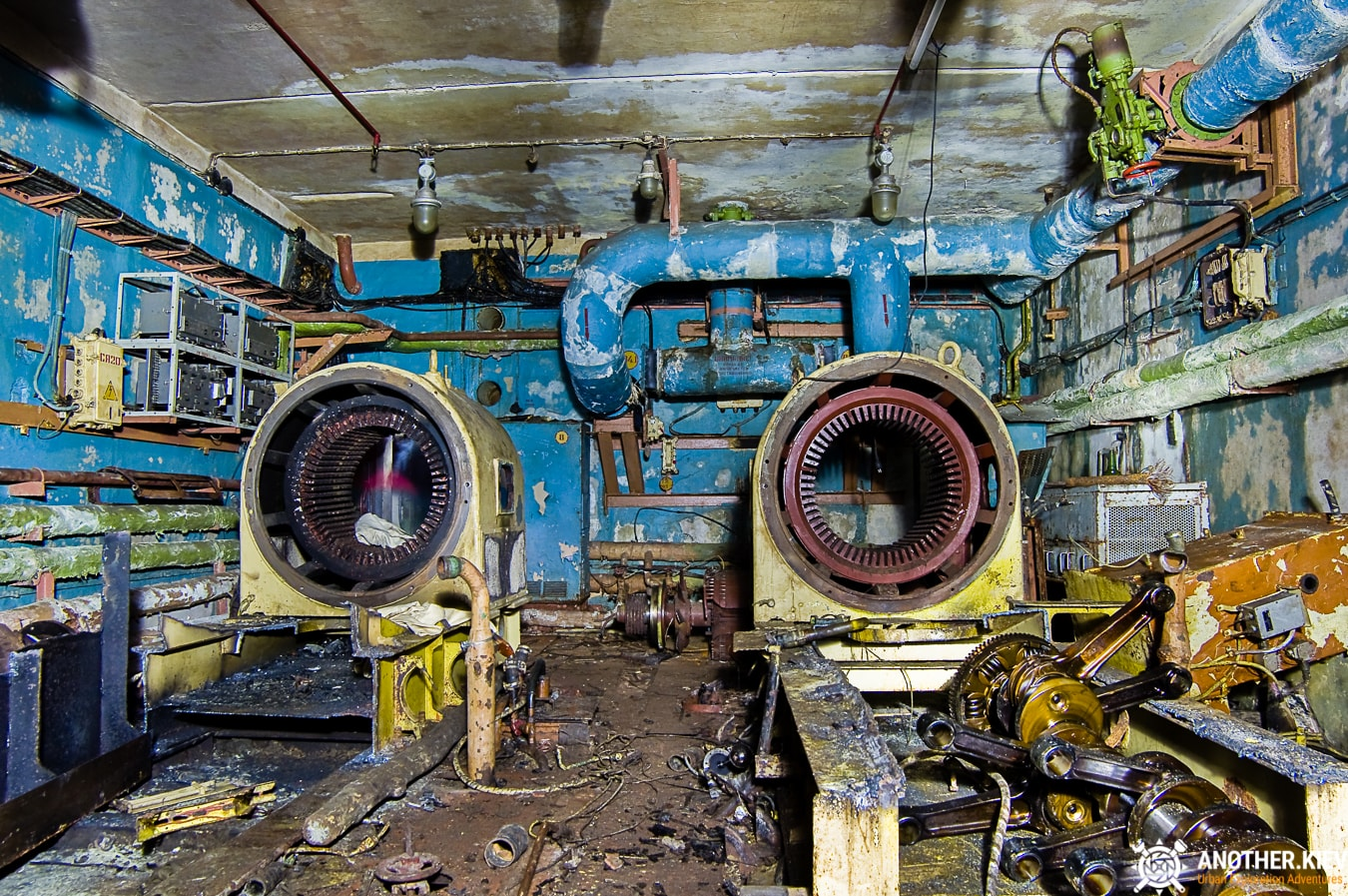exploring-nuclear-bunker-duga-313 HIDDEN CHERNOBYL: EXPLORING NUCLEAR BUNKER  OF DUGA-3 RADAR STATION