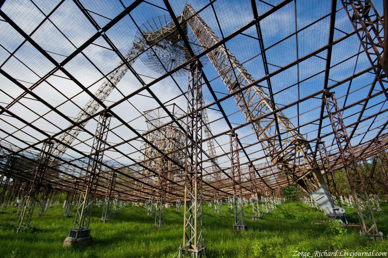 ionosphere research station near Kharkiv