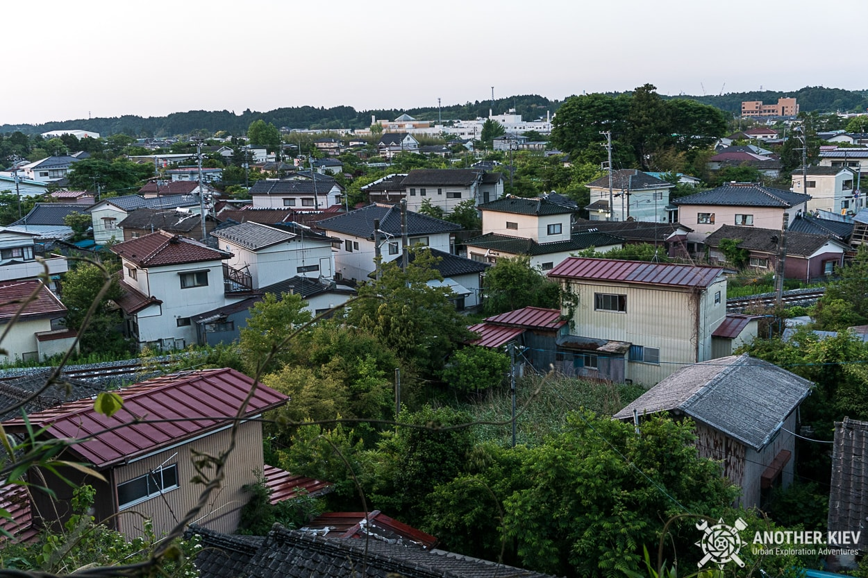 Futaba-abandoned-town Поход в заброшенный город Футаба, зона отчуждения Фукусимы