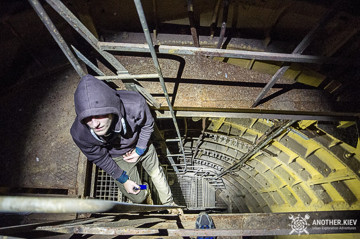 exploring mine under kyiv
