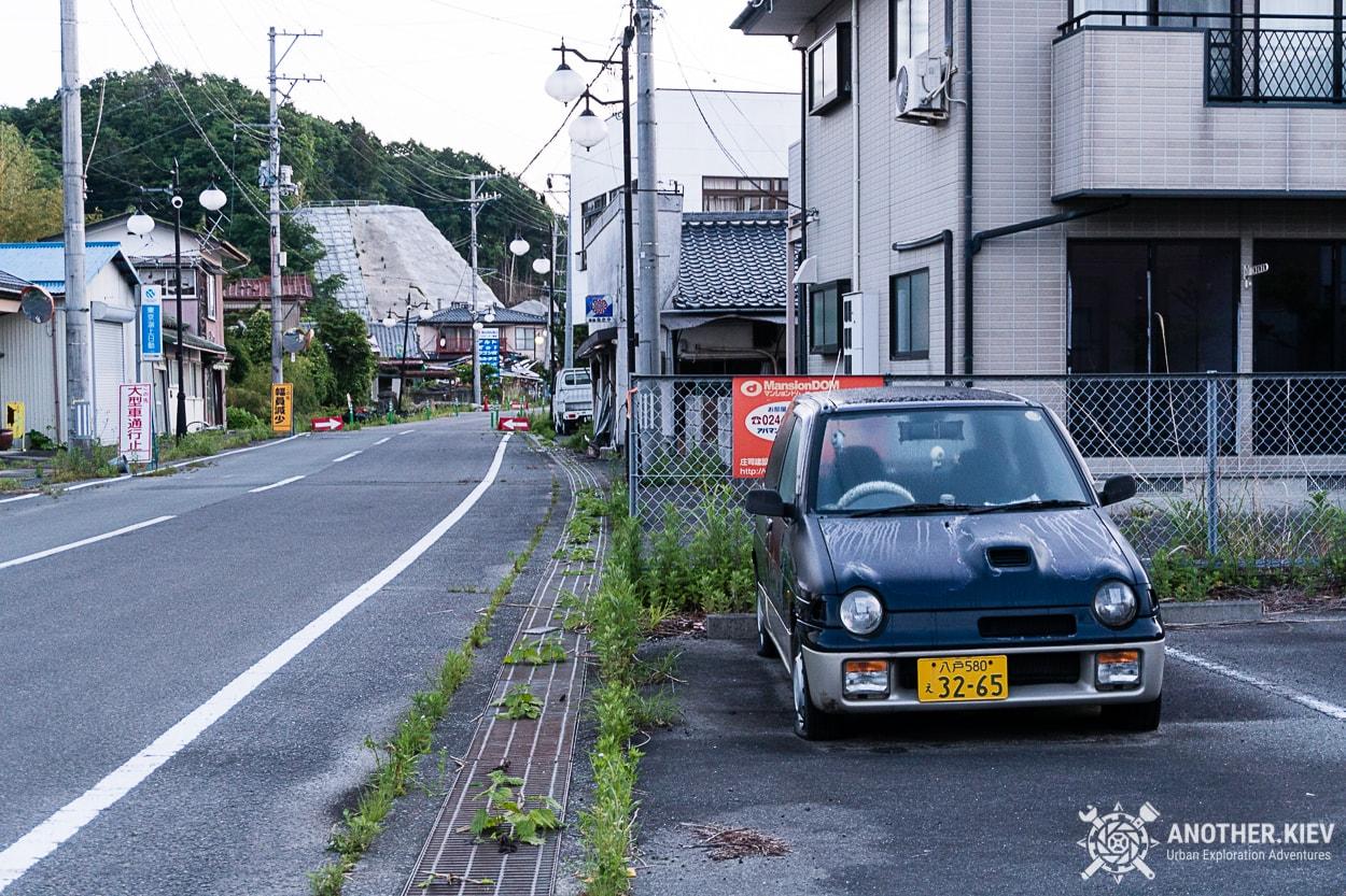 streets-ghost-town-futaba Поход в заброшенный город Футаба, зона отчуждения Фукусимы